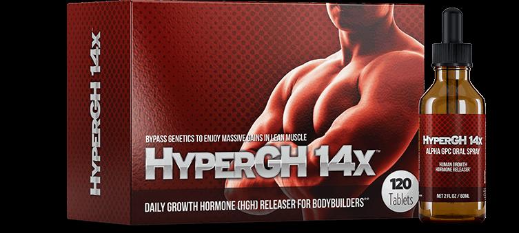 Human Growth Hormones HyperGH 14x
